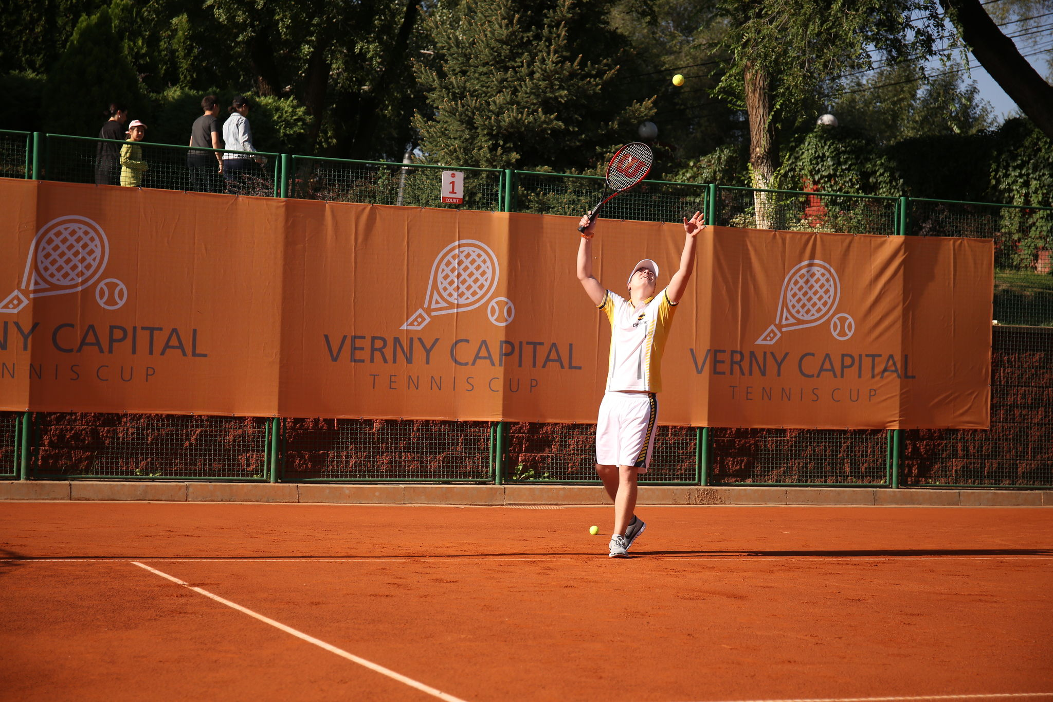 The first Verny Capital Tennis Cup corporate tournament 2019